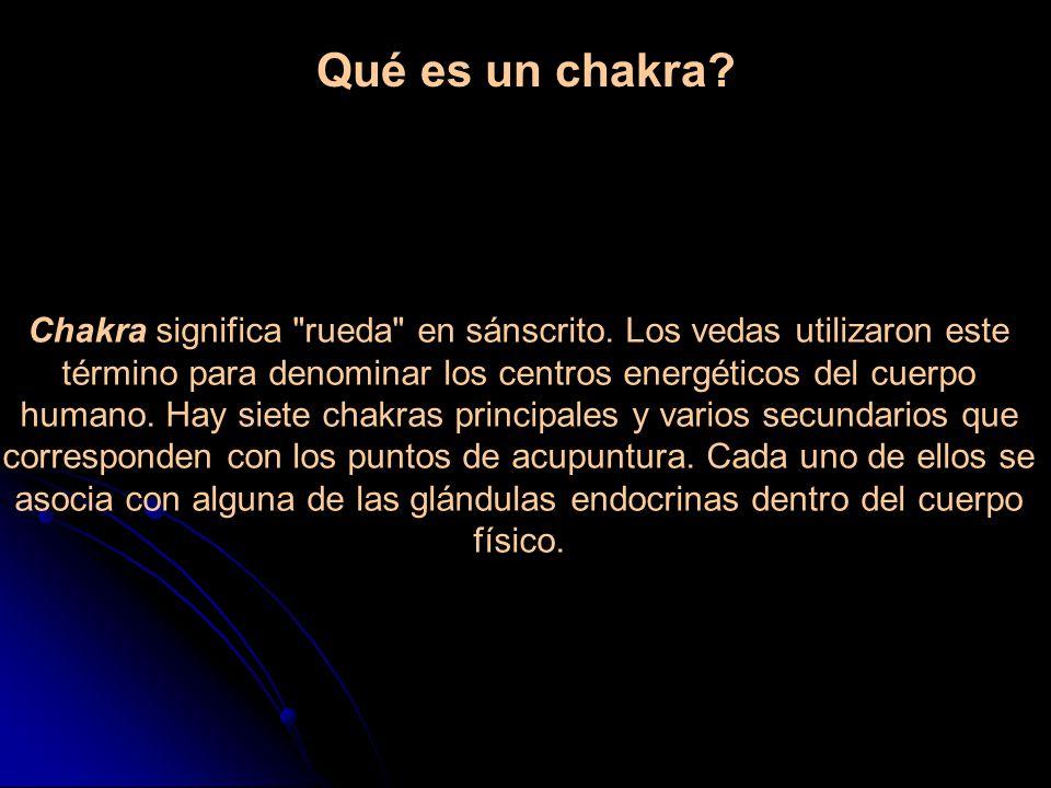 Qué es un chakra