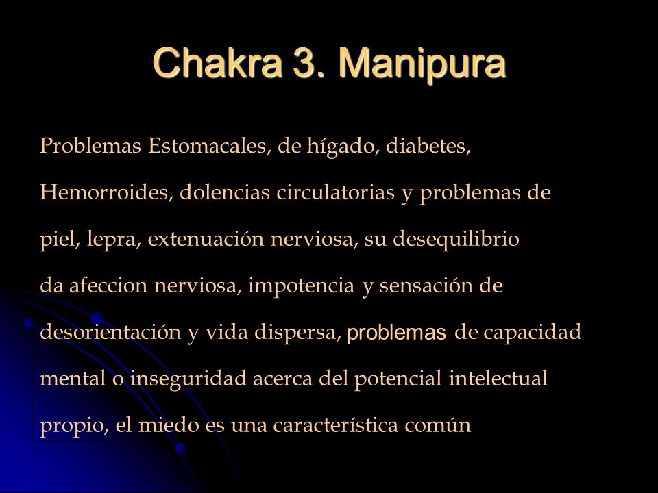 Chakra 3. Manipura Problemas Estomacales, de hígado, diabetes,