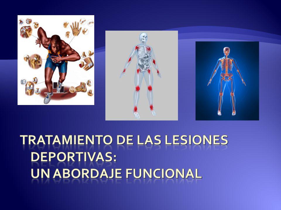 Tratamiento de las lesiones deportivas: Un abordaje funcional