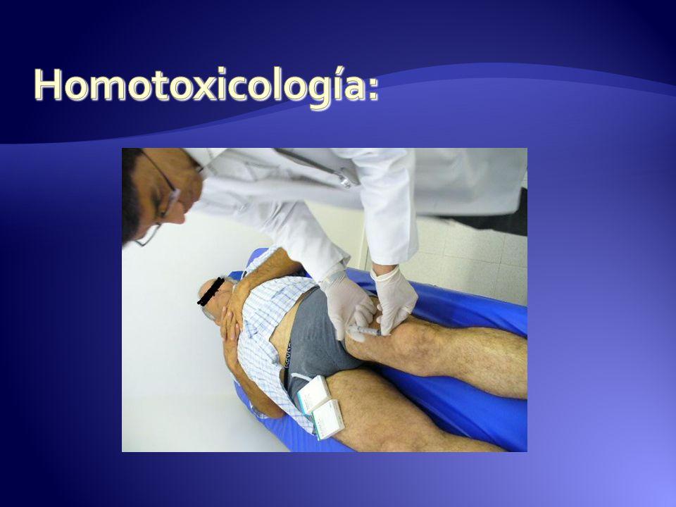 Homotoxicología: