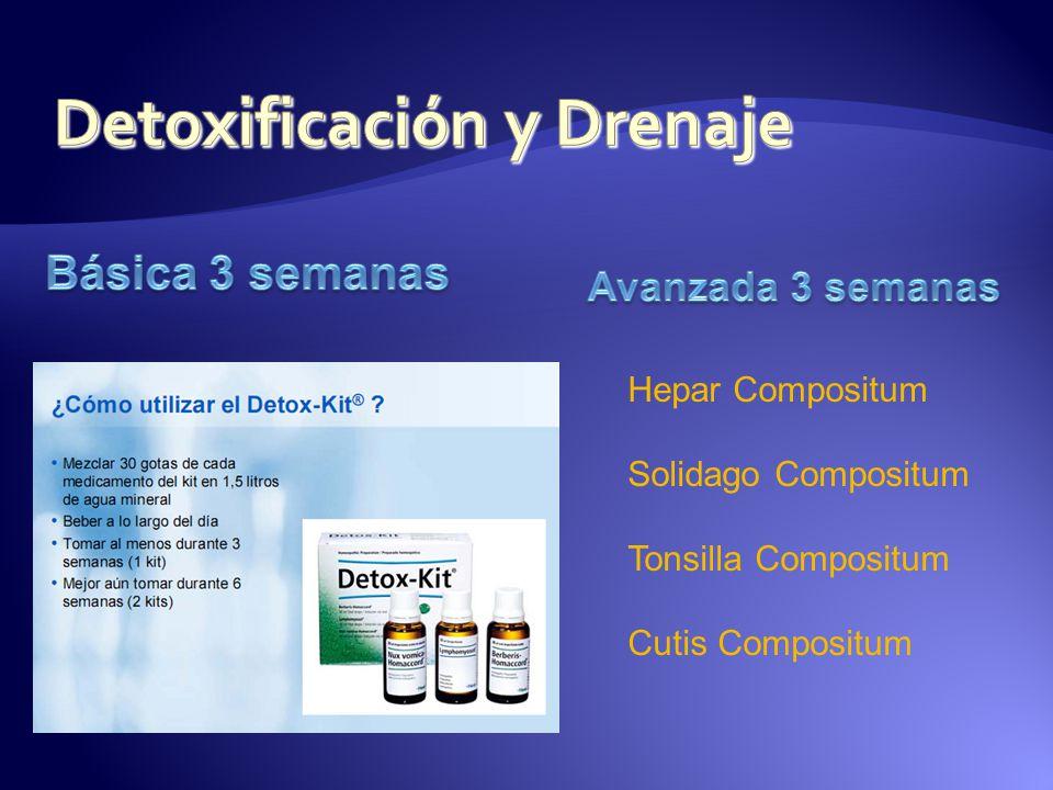 Detoxificación y Drenaje