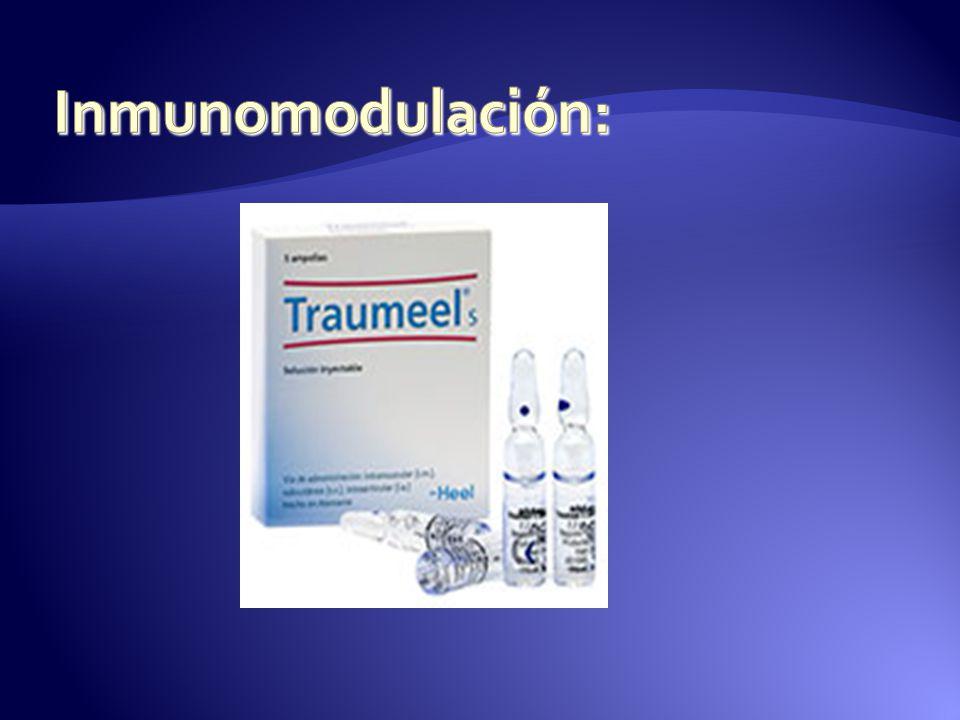 Inmunomodulación: