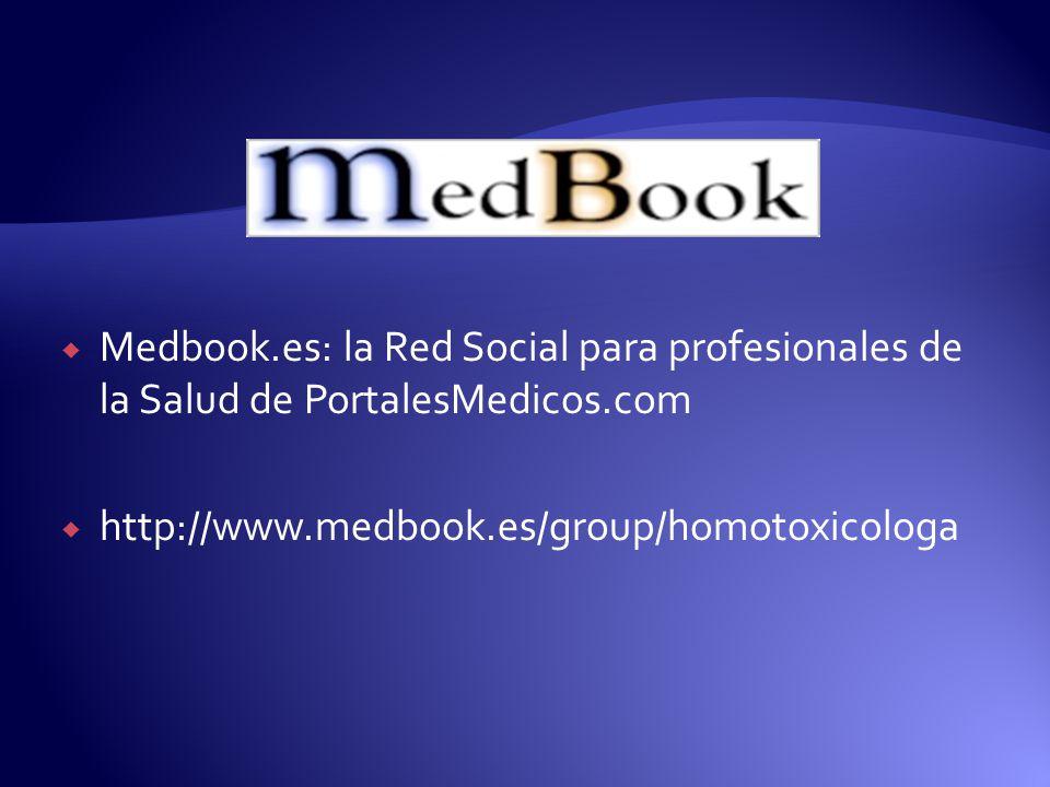 Medbook.es: la Red Social para profesionales de la Salud de PortalesMedicos.com