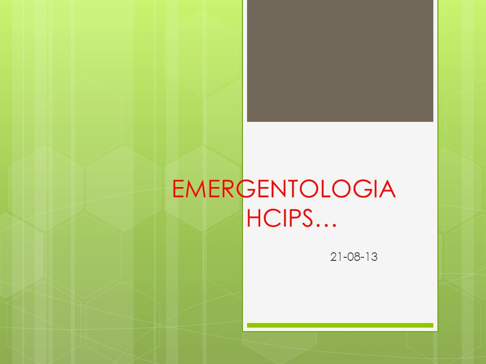 EMERGENTOLOGIA HCIPS…