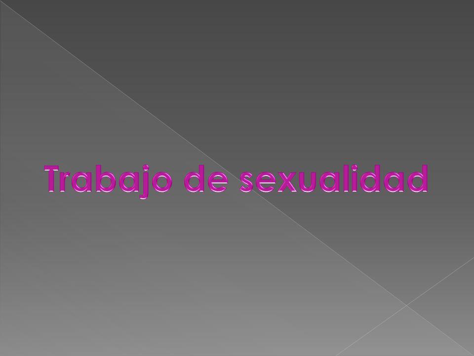 Trabajo de sexualidad