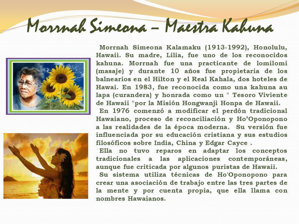 Morrnah Simeona – Maestra Kahuna