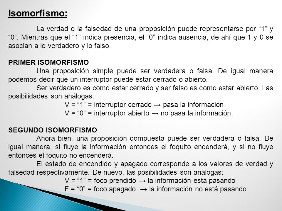 Isomorfismo:
