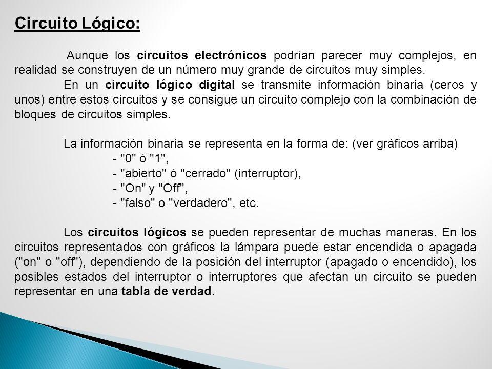 Circuito Lógico: