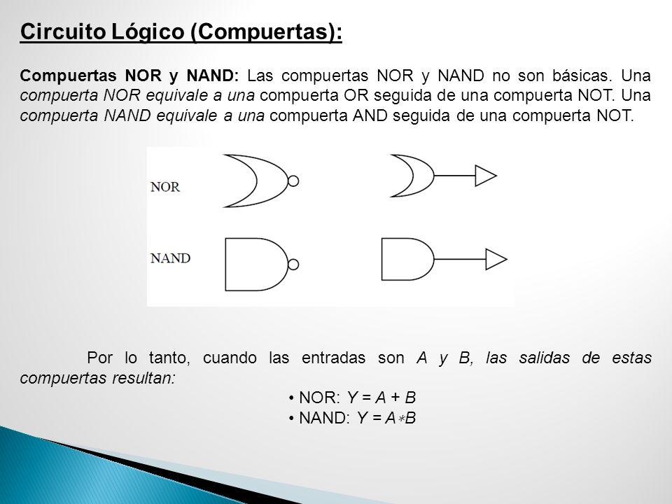 Circuito Lógico (Compuertas):