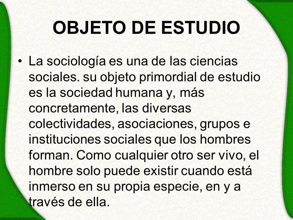 OBJETO DE ESTUDIO