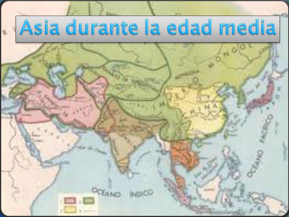 Asia durante la edad media