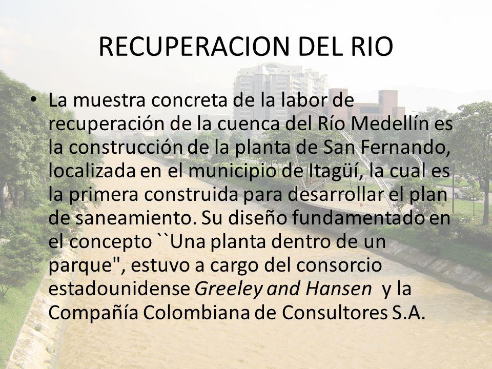 RECUPERACION DEL RIO