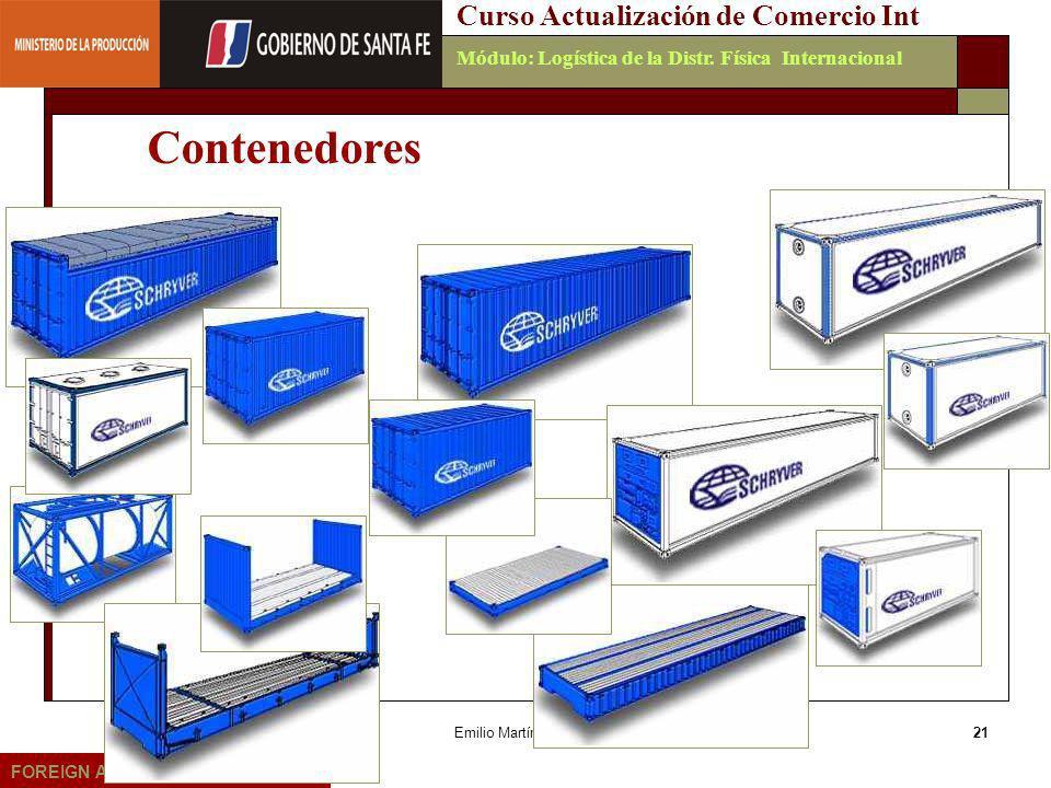 Contenedores Curso Actualización de Comercio Int