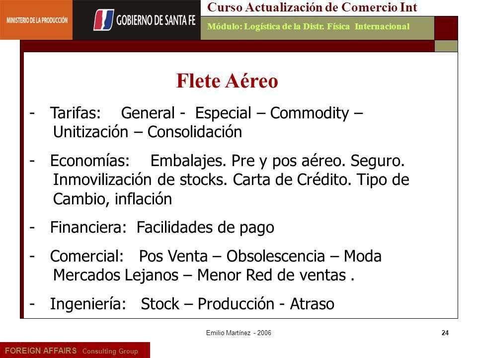 Curso Actualización de Comercio Int
