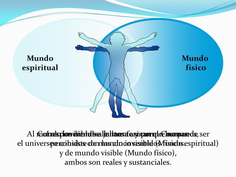 Mundo espiritual Mundo físico