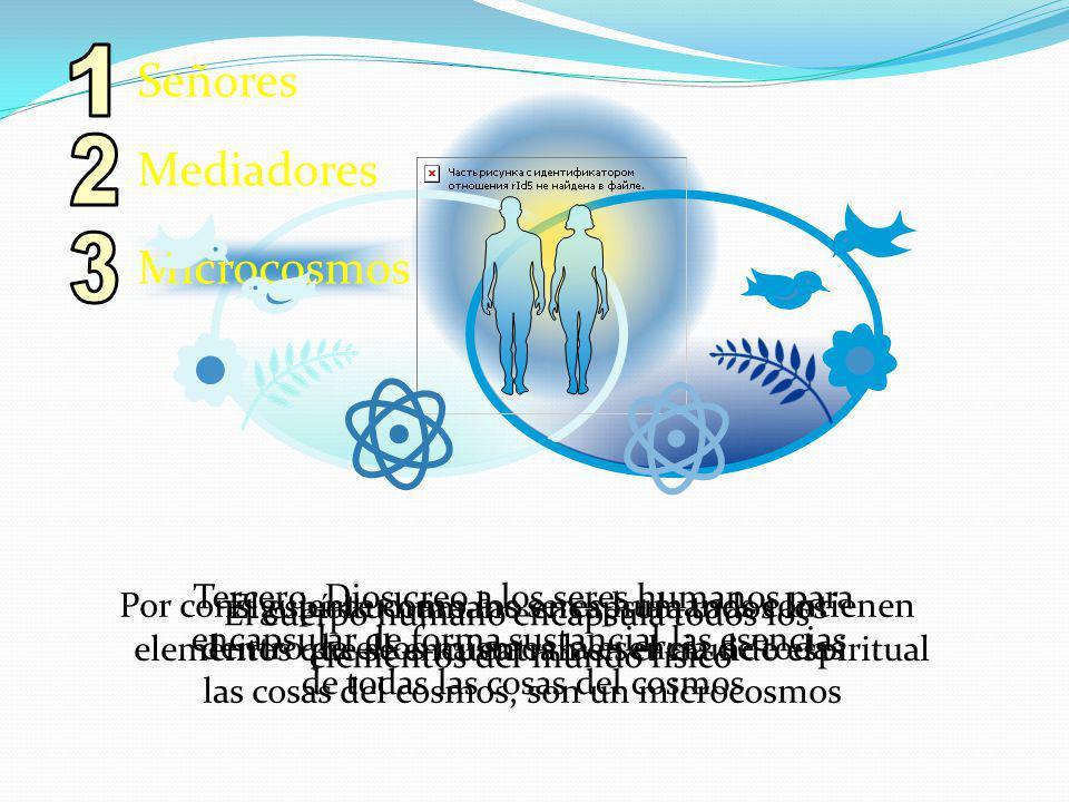 1 2 3 Señores Mediadores Microcosmos