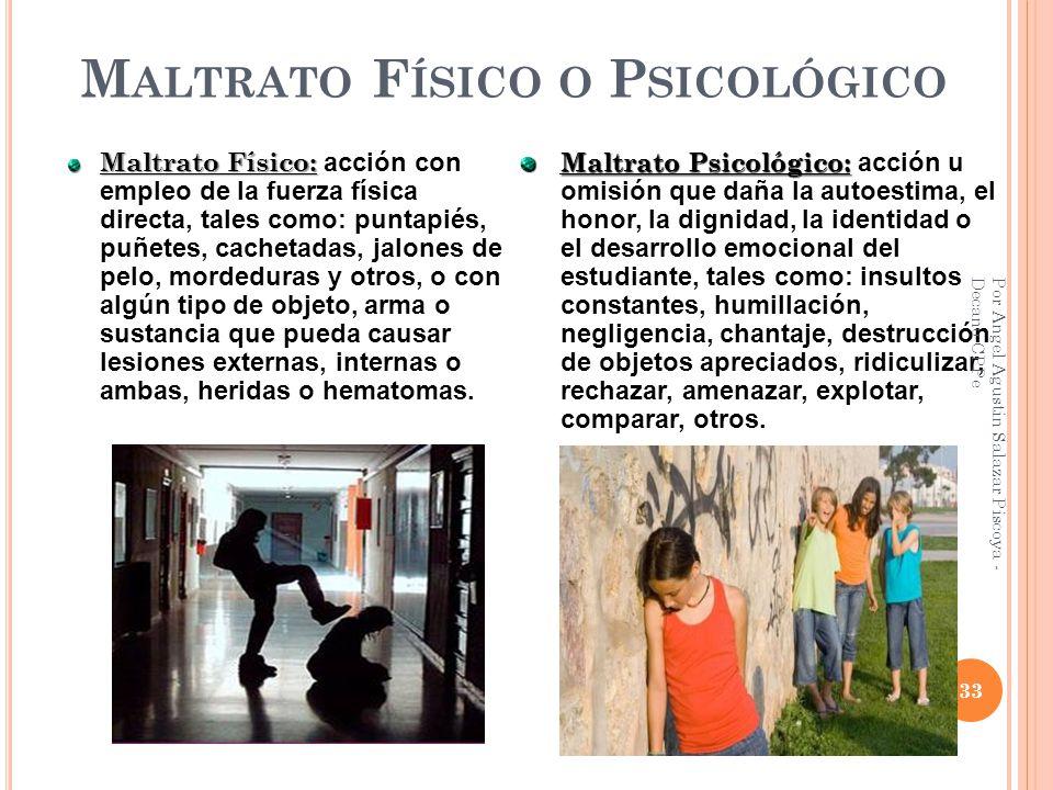 Maltrato Físico o Psicológico