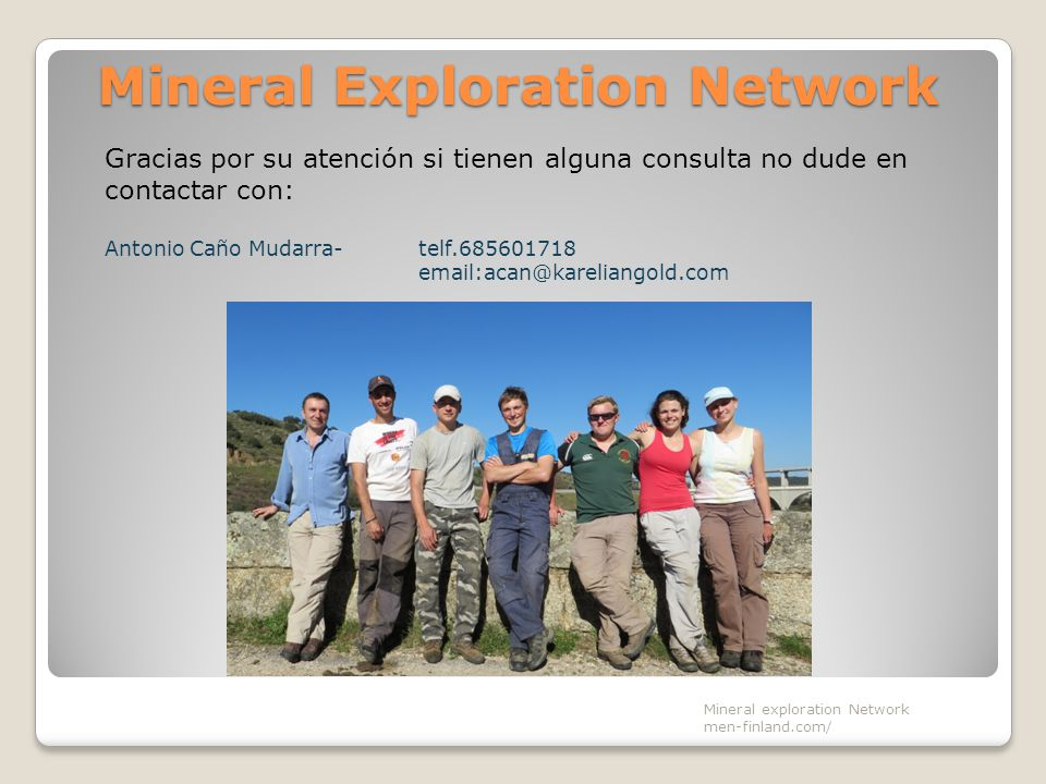 Mineral Exploration Network