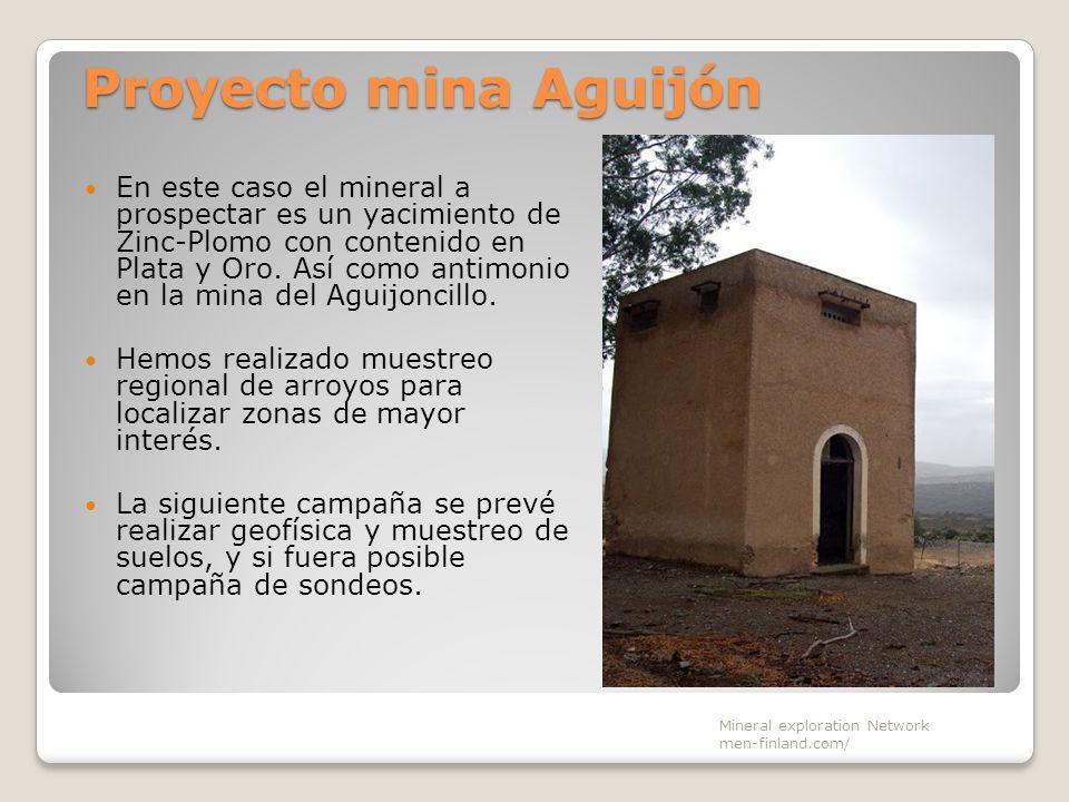 Proyecto mina Aguijón