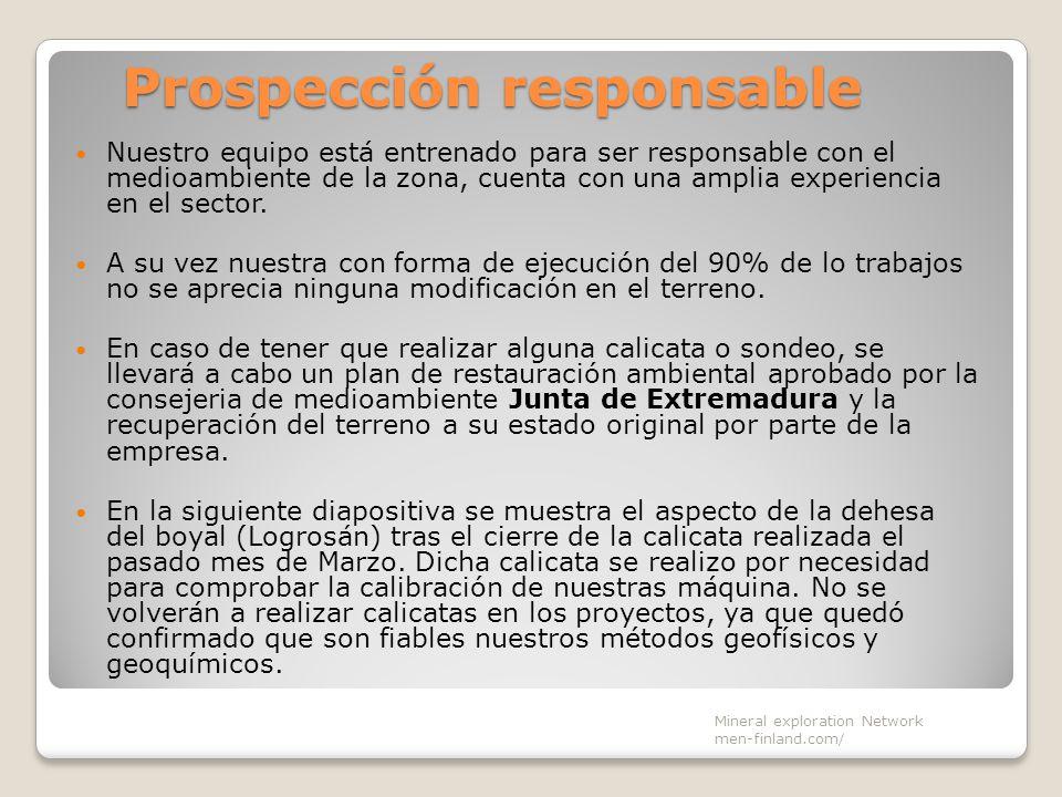Prospección responsable