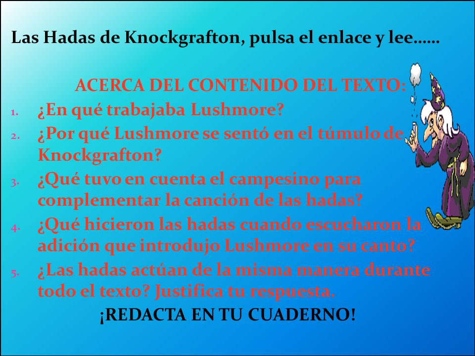 ACERCA DEL CONTENIDO DEL TEXTO:
