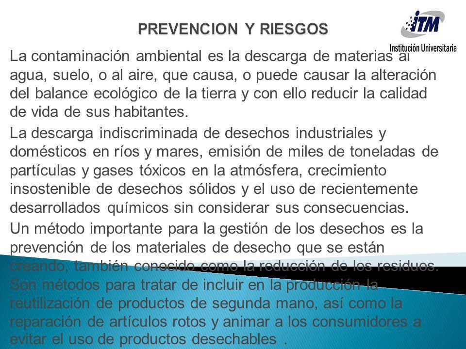 PREVENCION Y RIESGOS