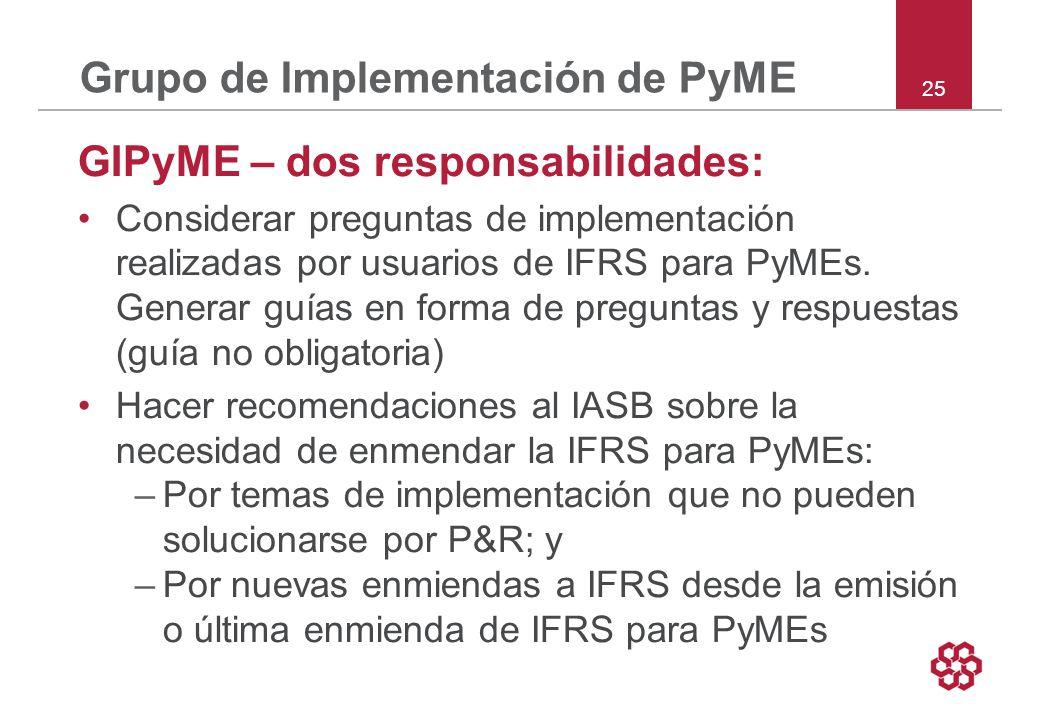 Grupo de Implementación de PyME