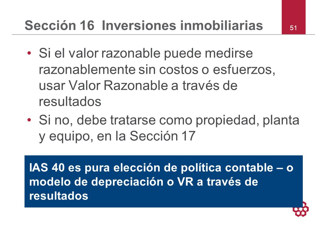 Sección 16 Inversiones inmobiliarias
