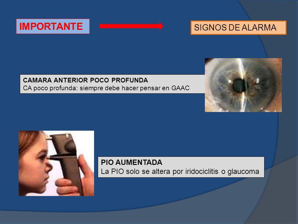 IMPORTANTE SIGNOS DE ALARMA PIO AUMENTADA