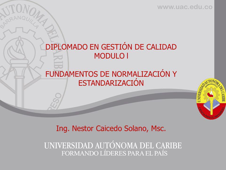 DIPLOMADO EN SISTEMAS DE GESTIÓN INTEGRADO DE CALIDAD,