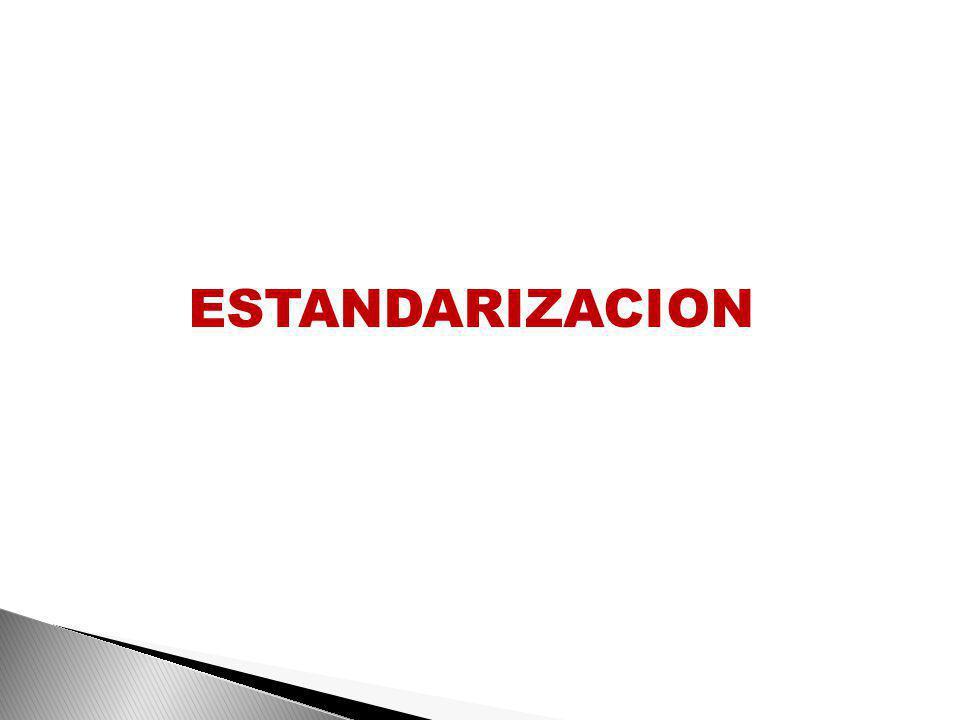 ESTANDARIZACION
