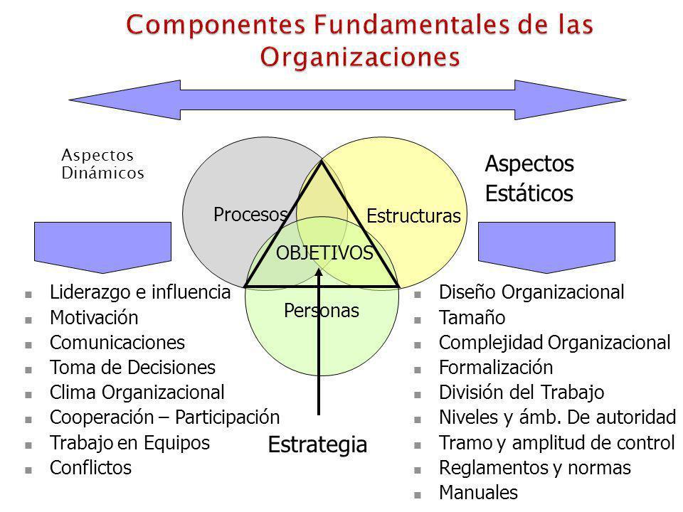 Componentes Fundamentales de las Organizaciones