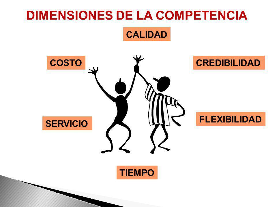 DIMENSIONES DE LA COMPETENCIA