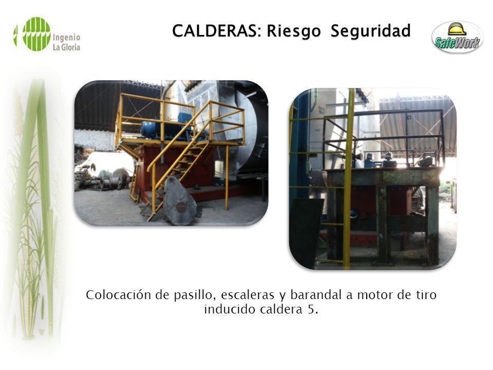 CALDERAS: Riesgo Seguridad