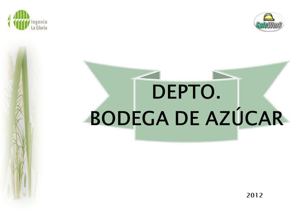 DEPTO. BODEGA DE AZÚCAR 2012