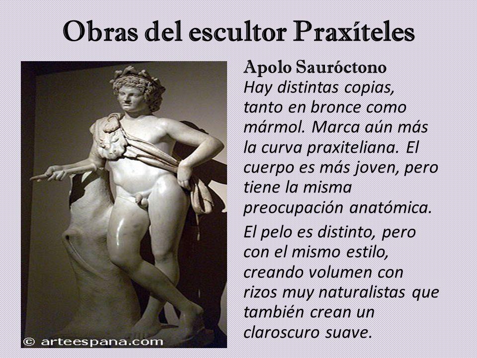 Obras del escultor Praxíteles