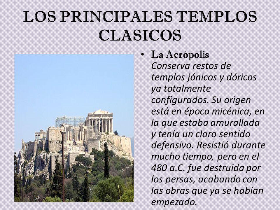 LOS PRINCIPALES TEMPLOS CLASICOS