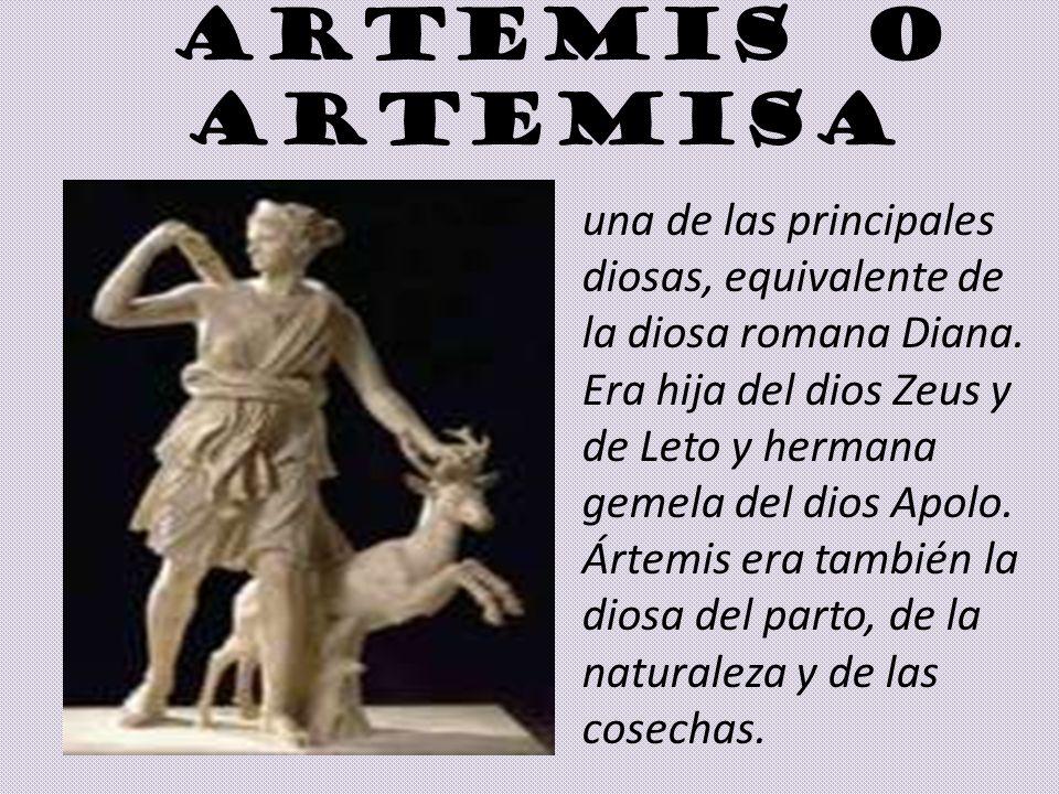 ARTEMIS O ARTEMISA