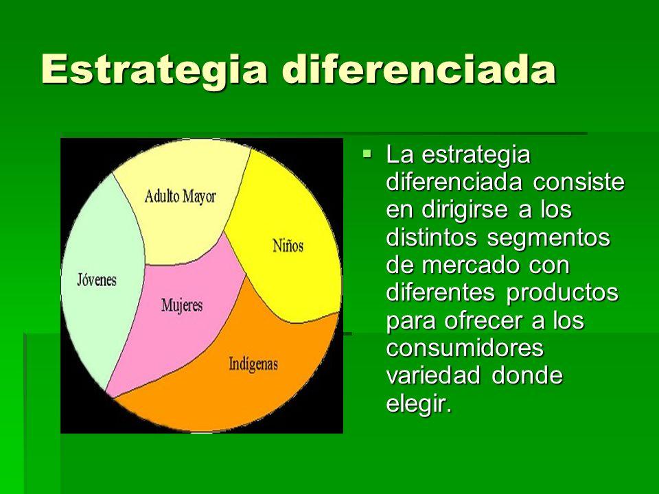 Estrategia diferenciada