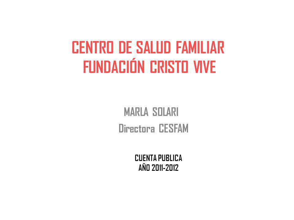 CENTRO DE SALUD FAMILIAR FUNDACIÓN CRISTO VIVE