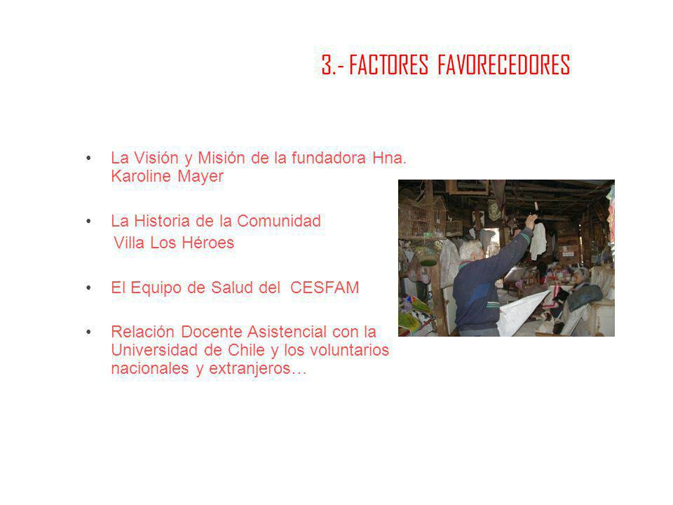 3.- FACTORES FAVORECEDORES