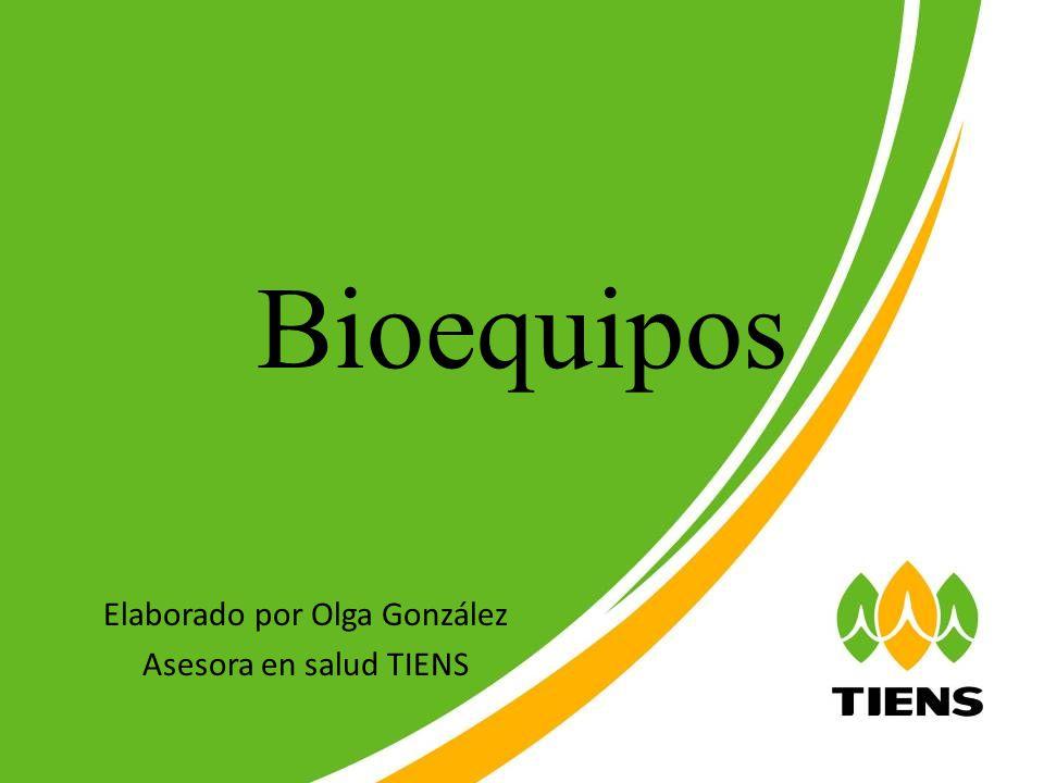 Elaborado por Olga González Asesora en salud TIENS