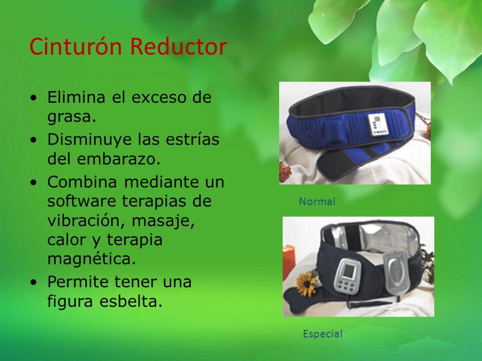 Cinturón Reductor Elimina el exceso de grasa.