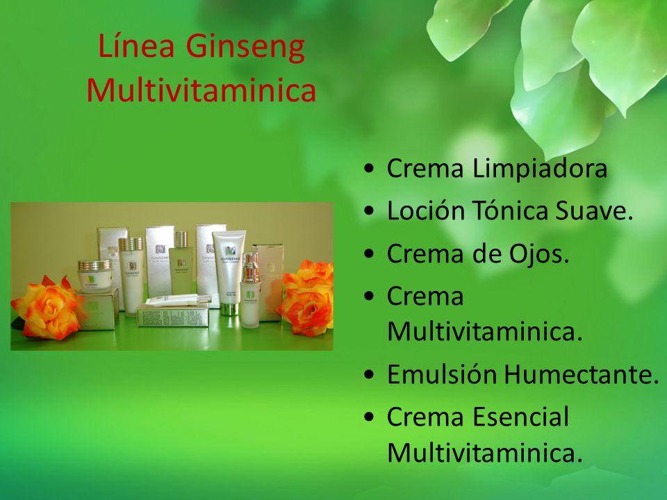 Línea Ginseng Multivitaminica