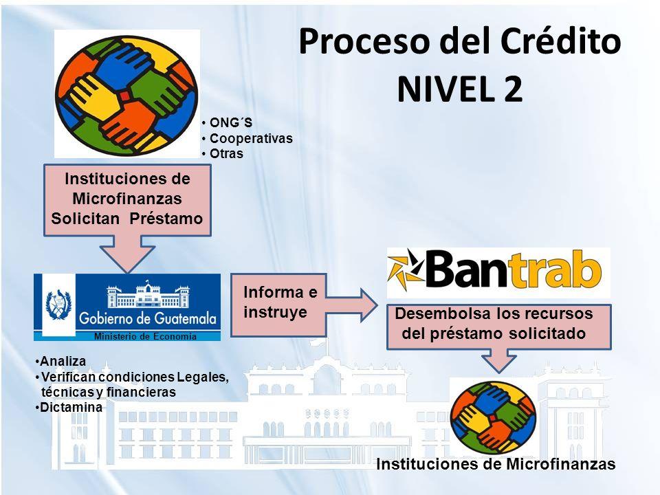 Proceso del Crédito NIVEL 2