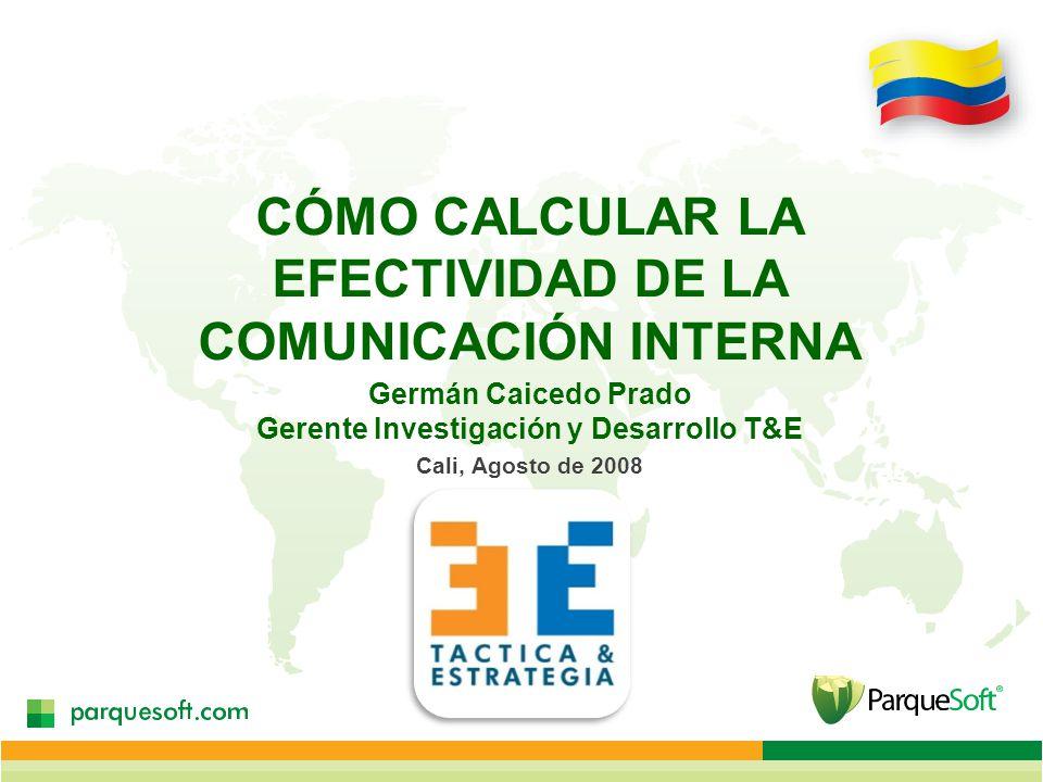 CÓMO CALCULAR LA EFECTIVIDAD DE LA COMUNICACIÓN INTERNA