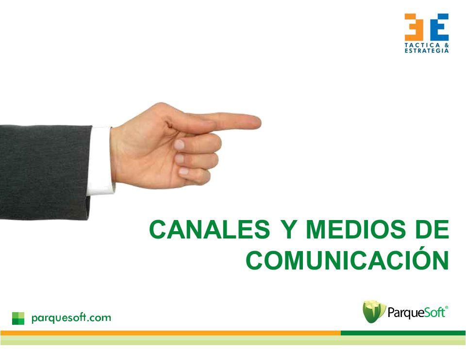 CANALES Y MEDIOS DE COMUNICACIÓN