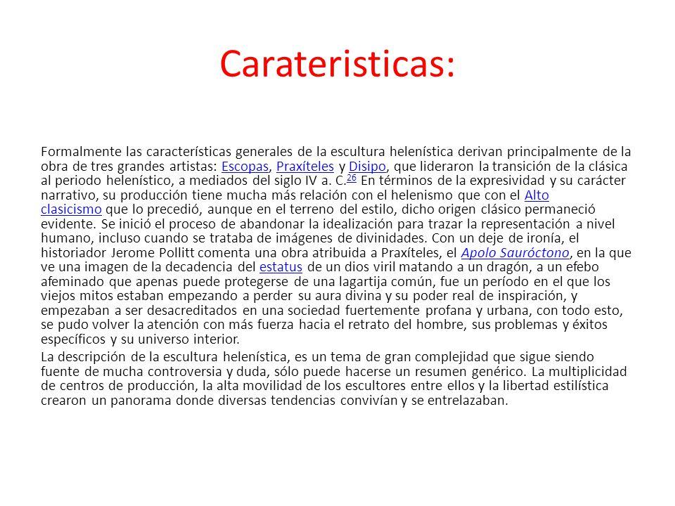 Carateristicas: