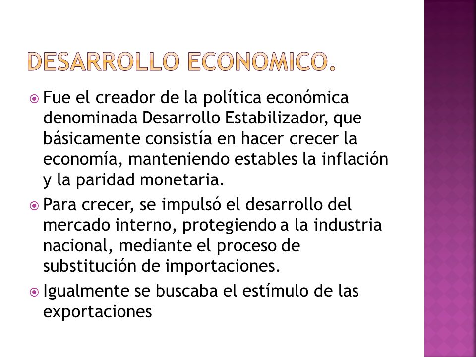 Desarrollo economico.