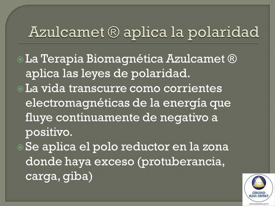 Azulcamet ® aplica la polaridad